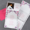Butterfly Border - Quinceanera Invitation