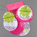 Circle Layers - Quinceanera Invitation