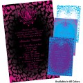 Cheetah Quinceanera Invitations