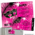 Magnet Party Invitations with Passes