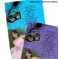 Masquerade Invitations with Picture