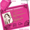 Passport Quinceanera Invitations