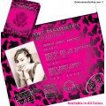 Cheetah Passport Quinceanera Invitations