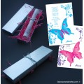 Butterfly Scroll Invitations Inside Silver Box