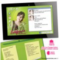 Tablet PC / IPad Quinceanera Invitations