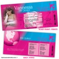 Airline Ticket Quinceanera Invitations