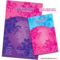 Floral Beauty Quinceanera Invitations