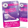Converse All Star - VIP Pass Quinceanera Invitations